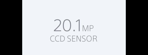 Sensor Super HAD CCD de 20,1 MP