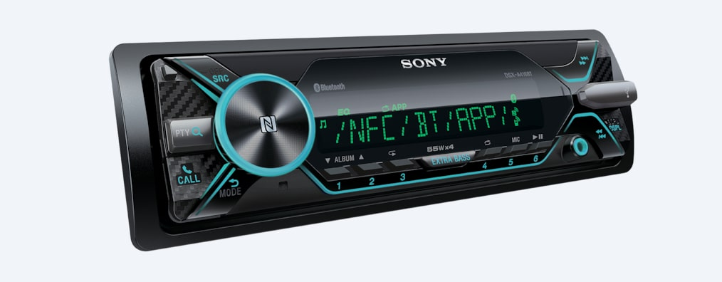 Imágenes de Radio para auto con BLUETOOTH® y display multicolor